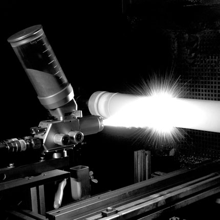 Flame spraying systems