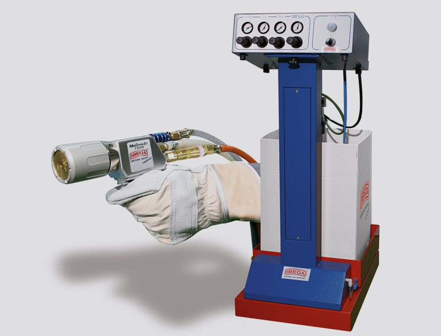 Plastic Flame Spraying system