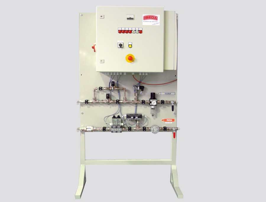 Heating burner control systems
